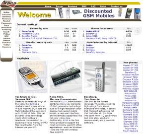 GSMArena.com in 2000