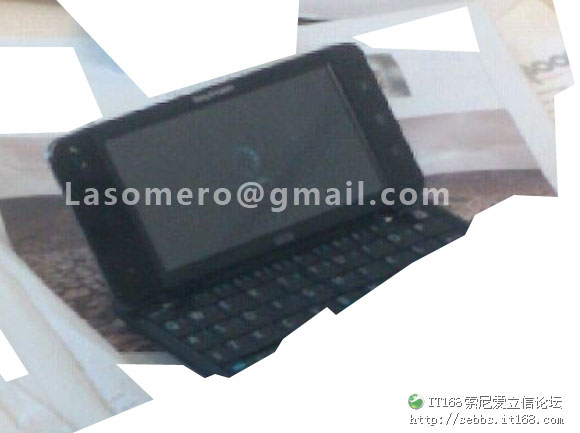 Rumored Sony Ericsson Android tablet