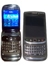 BlackBerry 9800 Slider and 9670 clamshell caught on video