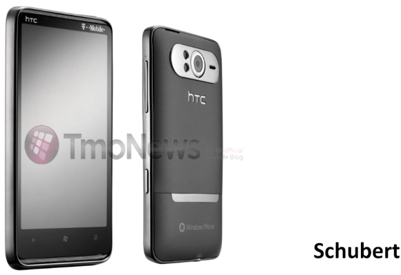 Confirmed: HTC Schubert is HD7, first press photo emerges ...