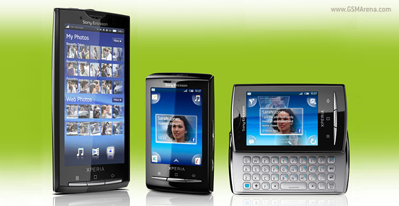 Sony Ericsson XPERIA software update
