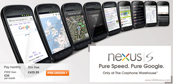 Samsung Google Nexus S UK