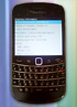First live photos of BlackBerry Bold Touch show a carbon back
