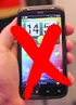 HTC Sensation suffers from death grip, iPhone 4 caught snickering