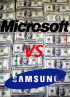 Microsoft files a suit against Samsung for $6.9 million