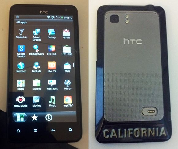 HTC Holiday prototype spotted on Craigslist