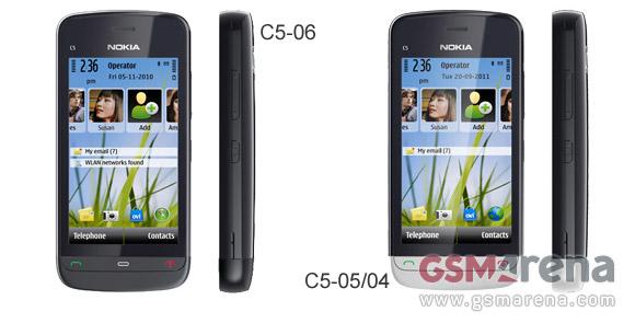 Nokia C5-06 and C5-05 pop up, are cheaper versions of C5-03 - GSMArena ...