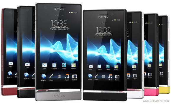 Sony Xperia U W... Xperia U White Hands On