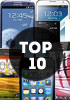 Here are the 10 most popular phones in our database for 2012