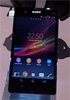 Sony Xperia Z shot at CES floor ahead of announcement