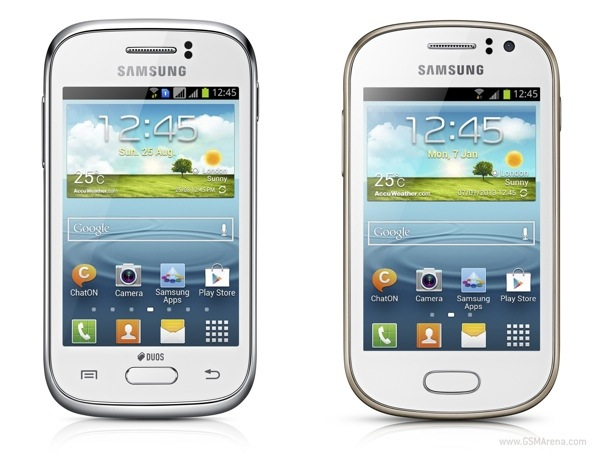 gsmarena 001 Samsung Galaxy Young DS/SS and Samsung Galaxy Fame Specification
