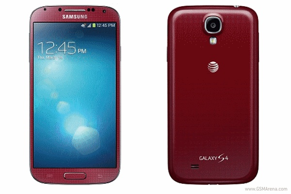 samsung galaxy s4 aurora red will be atampt exclusive