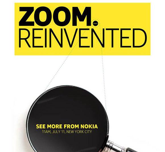 Nokia zoom invented