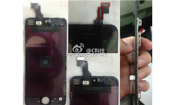 Front panel and innards of the iPhone 5C leak - GSMArena ...