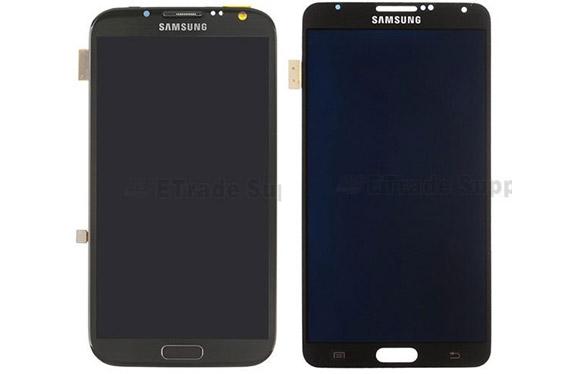 เทียบแผงหน้า Samsung Galaxy Note III กับ Galaxy Note II ใหญ่กว่าเดิมนิดเดียว
