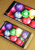 Sony Xperia Z Ultra display compared to the HTC One - read the full text
