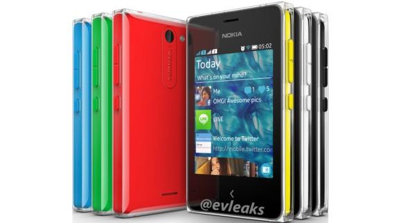 Nokia Asha 502 Leaks in press image