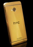 HTC One gold edition built by Gold Genie goes up for pre-order  - read the full text