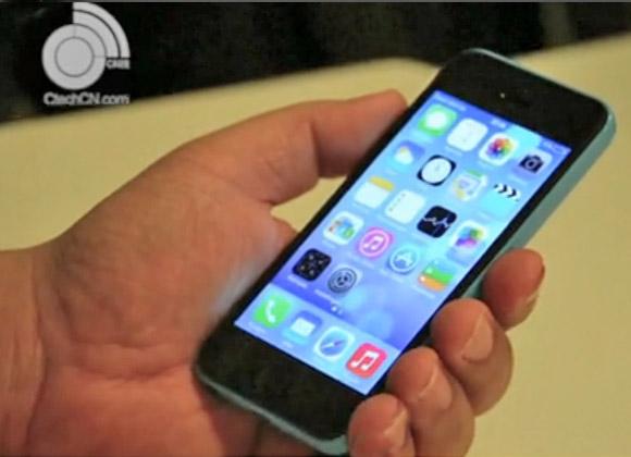 Working iPhone 5C handled in a short video - GSMArena.com news
