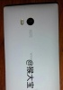 Verizon bound Lumia 1520 in white poses for the camera