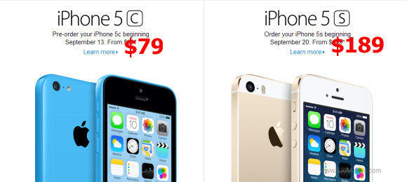 Walmart to sell iPhone 5s for 189 or iPhone 5c for 79