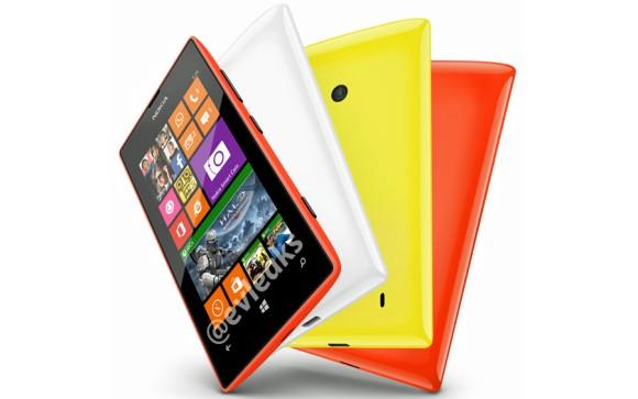 หลุดภาพ Nokia Lumia 525 รุ่นสานต่อจาก Lumia 520