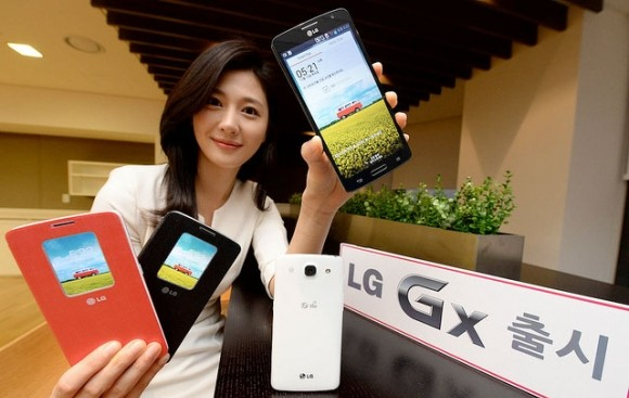 "LG GX goes official in Korea with 5.5"" screen and Snapdragon 600"
