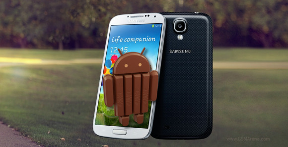 Android 4.4 KitKat now hitting Samsung Galaxy S4