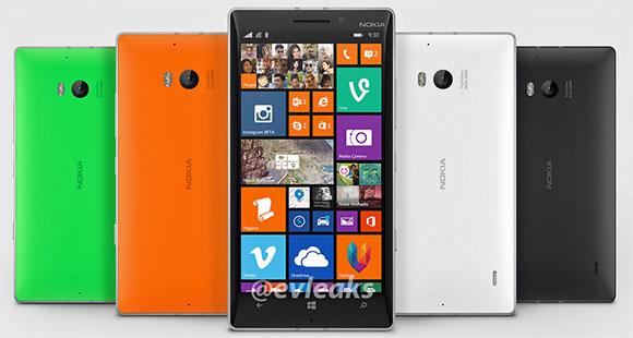 Nokia Lumia 930 official photo leaks, reveals four color options