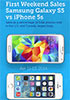 Galaxy S5 outsells iPhone 5s over launch weekend - read the full text