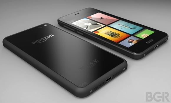 Alleged official image of Amazon's phone emerges
