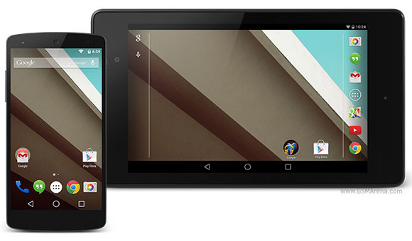 Android L Developer Preview on Nexus 5 and Nexus 7 rooted