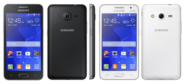 Samsung Outs Galaxy Core Ii  Galaxy Young 2 And Galaxy