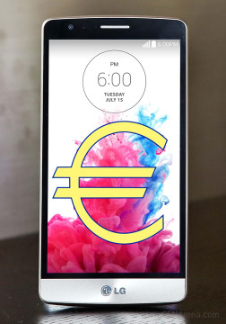 LG G3 S a.k.a. G3 Beat to cost €349 in Europe