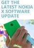 Original Nokia X trio getting a software update