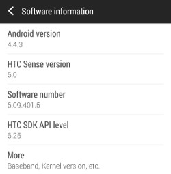 gsmarena 001 Original HTC One is now receiving Android 4.4.3 in Europe