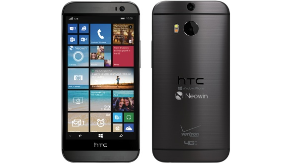 More press shots of HTC One (M8) with WP 8.1 leak
