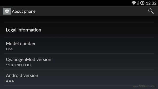 gsmarena 001 OnePlus One Android 4.4.4 update rolling out now