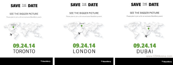 gsmarena 001 BlackBerry Passport launch scheduled for September 24