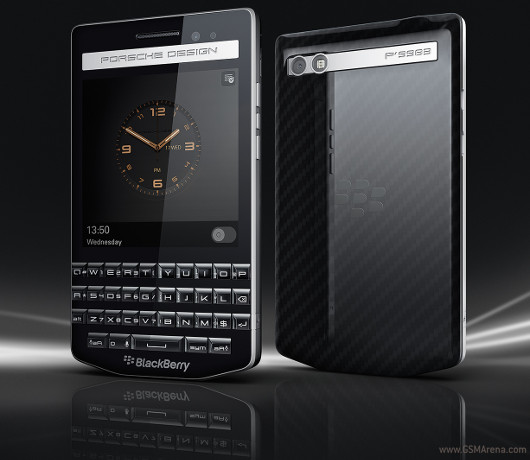 gsmarena 001 BlackBerry Porsche Design P'9983 gets official