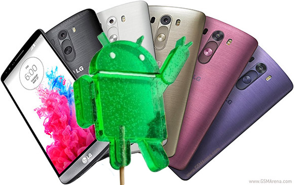gsmarena 001 LG G3 to get Android 5.0 Lollipop update by the end of 2014