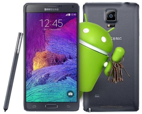 Samsung Galaxy Note 4: già rilasciato un primo aggiornamento.