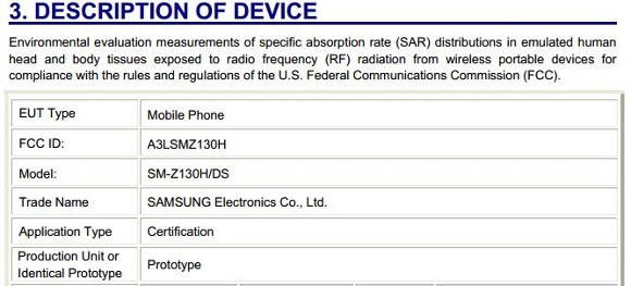 Tizen-running dual-SIM Samsung phone spotted at the FCC