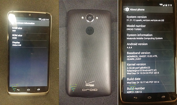 gsmarena 001 Motorola Droid Turbo leaks out in live photos