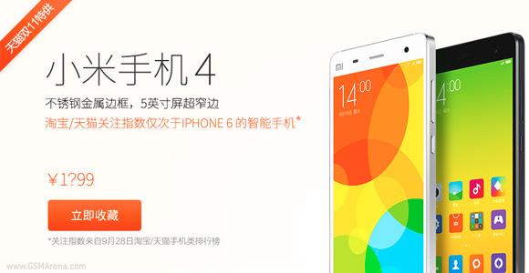Xiaomi Mi 4 and Mi Pad getting price cuts