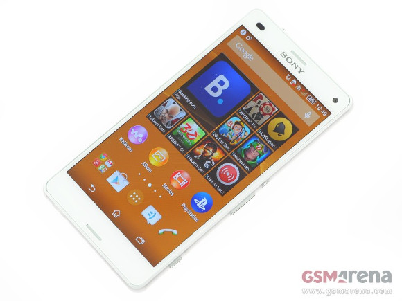 gsmarena 001 Unlocked Sony Xperia Z3 Compact can be ordered in the US