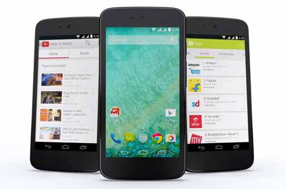 gsmarena 001 Android One phones will run Lollipop by end of January