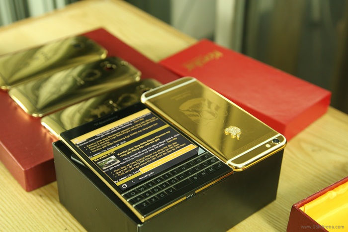 Spoil Yourself with BB Passport 24K Gold Plated