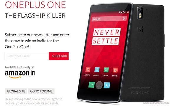 oneplus one will launch in india on december 2   gsmarena