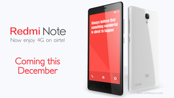 Xiaomi to launch Redmi Note in India next month